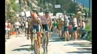 Cycling legends climbs and crowds