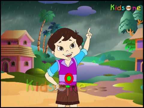 Badal Hindi Animated Rhyme