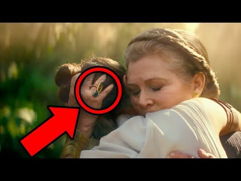 STAR WARS Rise of Skywalker Trailer BREAKDOWN! Palpatine & Leia Explained!