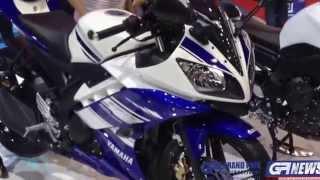 Video Walkaround New ! Yamaha R15 - The 35th Bangkok Motor Show 2014 MP3, 3GP, MP4, WEBM, AVI, FLV Juli 2018