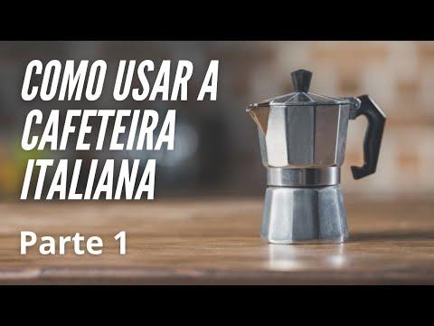 Como usar a Cafeteira Italiana (Moka)
