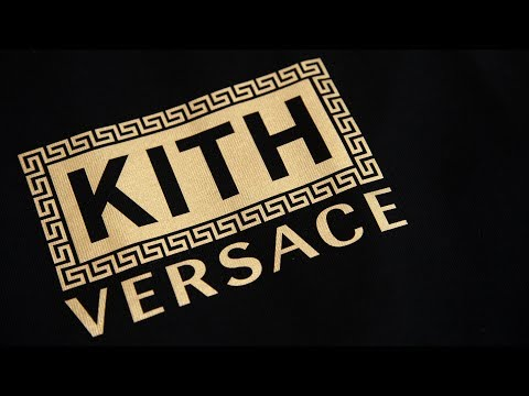 Opening the Kith x Versace Collaboration