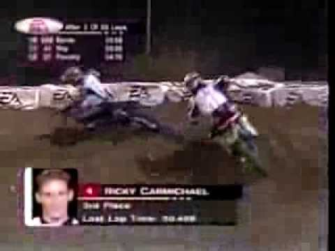 mcgrath - This is the 250cc Main from the 2001 season finale in Las Vegas, NV. In 2001, Team Kawasaki's Ricky Carmichael was going after history in tieing a record tha...