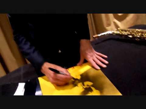 Kenny G Signing