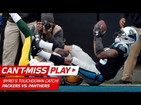 Video: Olsen's Sick One-Handed Catch & Byrd Scores TD by a Cheek! | Can't-Miss Play | NFL Wk 15
