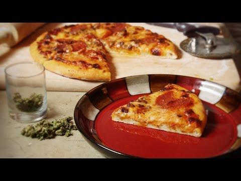 Marijuana Pizza with Cannabis Olive Oil Infusion Cooking with Marijuana #23