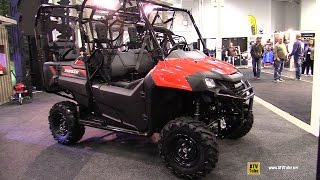 5. 2017 Honda Pioneer 700 4 Side by Side ATV - Walkaround - 2016 Toronto ATV Show