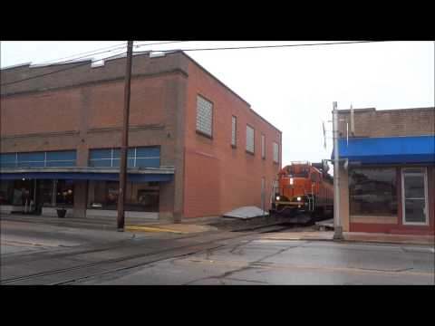 BNSF Local on H&TC – Brenham TX – 3.15.2014