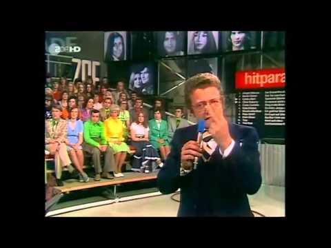 ZUSAMMENSTELLUNG VON ANSAGEN DER INTERPRETEN (ZDF-HITPARADE, DIETER THOMAS HECK)