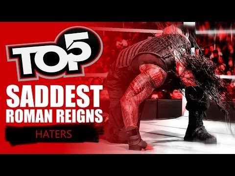 Video Top 5 SADDEST Roman Reigns Haters download in MP3, 3GP, MP4, WEBM, AVI, FLV January 2017