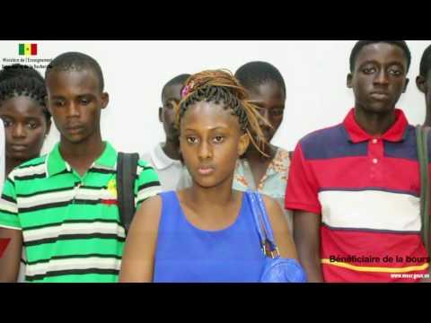 [Vidéo] - Bacheliers sénégalais sélectionnés dans le cadre des Bourses du CRBC édition 2016