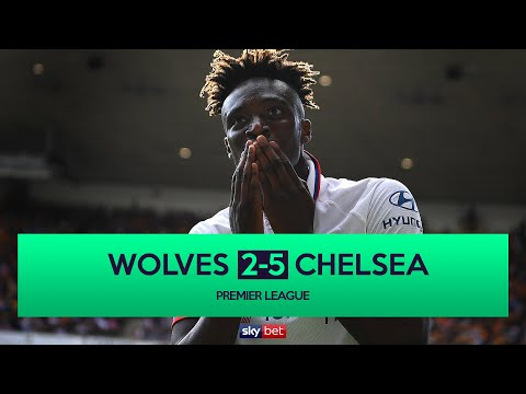 Video: Wolves 2-5 Chelsea | Tammy Abraham Scores Hat-trick in Chelsea Rout