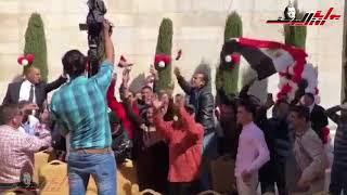 المصريون فى الاردن .. تصويت و احتفالات
