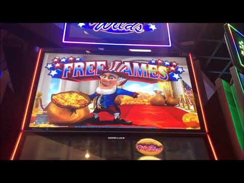 $15 JACKPOT HANDPAY ICY WILDS AMERICOIN HUGE BIG WIN