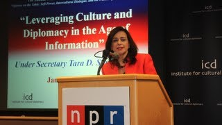 Tara D. Sonenshine, Under Secretary of State for Public Diplomacy and Public Affairs