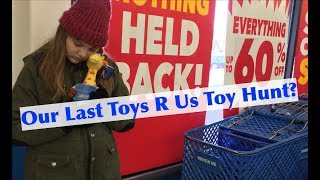 Video Toy Hunt at a Closing Toys R Us Store! Liquidation Sale on Project Mc2 Num Noms & More! #savetoysrus MP3, 3GP, MP4, WEBM, AVI, FLV Juni 2018