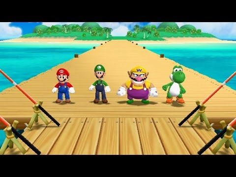 Mario Party 9 - All Mini Games (видео)