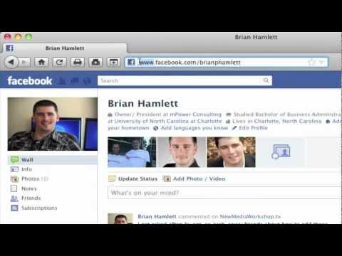 comment trouver le code de sa page fb