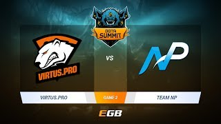 Virtus.Pro vs Team NP, Game 2, DOTA Summit 7 LAN-Final, Day 4