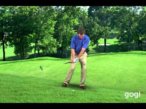Golf Basics – Downhill Lie: Todd Anderson at www.mygogi.org