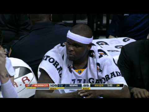 Video: Zach Randolph Gives a Young Fan His Shirt