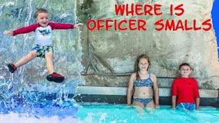 Where's Officer Smalls can the Assistant and Batboy find him at the Waterpark?!? Please subscribe here:  http://www.youtube.com/user/TheEngineeringFamily?sub_confirmation=1Check out our new channel: https://www.youtube.com/channel/UCPC55dCdzIjNJd421LbK3uwIn this The Engineering Family YouTube outdoor adventure waterpark video The Assistant, Mr. Engineer and Batboy are searching high and low, far and wide for Officer Smalls! Will they find him at the waterfall, waterpark jail, slide or wave pool? See if you can spot him before they do!Check out some of these other fun TheEngineeringFamily Treasure HuntsDISNEY SURPRISE TREASURE Secret Surprise Treasure with the Assistant a Disney World Video Surprise   https://youtu.be/a3c5pAJ-o-kPJ MASKS Disney Search For PJ Masks with Blaze and Paw Patrol Video  Adventure   https://youtu.be/4mV2sNE14PgAssistant Slip N Slide Bounce House Carnival Challenge Surprise Toys Video  https://youtu.be/HKE2lCvb6fMASSISTANT TREASURE HUNT Paw Patrol Look Out Hunt + toysZootopia + Lion Guard Toys Surprise Video  https://youtu.be/ECgPK35Gw3wOr these Playlists!  Funny Kids Videos     https://www.youtube.com/playlist?list=PLoLQ9unpi4OHXhaMeWT2y6P27pbuzKbckFeaturing the Assistant   https://www.youtube.com/playlist?list=PLoLQ9unpi4OGfgjxJsWnO878aLXo2TgXHAbout The Engineering FamilyWe are The Engineering Family, a family of educators working to show you how to make learning fun and engaging through toy unboxings, toy reviews, and original series designed to insight imaginative play within your family. With Mr. Engineer as an experienced engineer with a love of exploring new things, Mrs. Engineer an award winning teacher with a math and counseling focus, and their daughter The Assistant you can think of The Engineering channel as your imagination station. You can think of The Engineering Family channel as a Funbrain meets YouTube. This family is taking some of the coolest toys like Paw Patrol, Shimmer and Shine, Scooby Doo, PJ Masks, Doc Mcstuffins, and plenty of fun Real Life live action videos that help teach children valuable STEM content. As always... TheEngineeringFamily only features 100% suitable family fun entertainment.