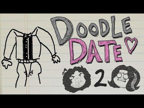 Doodle Date: Dan's First Kiss - PART 2 - Game Grumps (видео)
