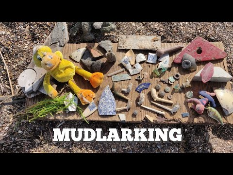 Mudlarking with Nicola White - Finding treasures on my favourite mysterious island