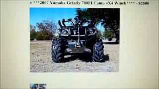 8. Scam Alert 2007 Yamaha Grizzly 700FI Camo 4X4 Winch