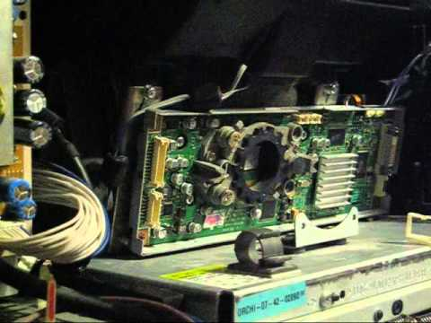 DLP Chip replacement on HL-T5076S TV