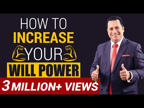 How To Increase Your Will Power | Motivational Video | Dr Vivek Bindra (видео)
