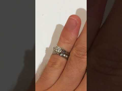 HRD Certifidied Platinum Bespoke bridal Set