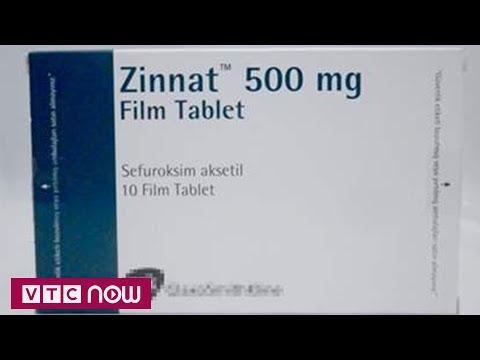 Kháng sinh thông dụng Zinnat giả đã ra thị trường | VTC1 - Thời lượng: 93 giây.