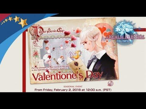 FFXIV - Valentione's Day 2018 (ITA) - Lezioni d'Amore