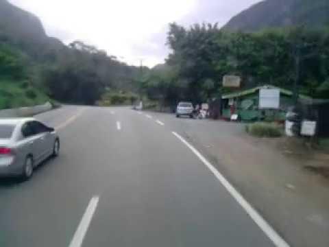 Viajando de caminhão, serra Dona Francisca SC301