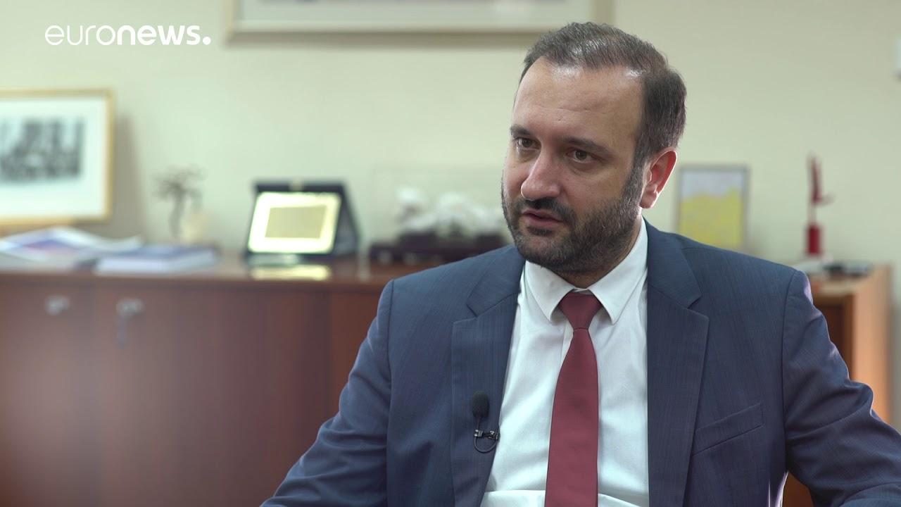 Ο πρόεδρος του Οικονομικού Επιμελητηρίου Κωνσταντίνος Κόλλιας στο euronews