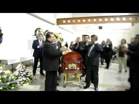 Sepelio del Lic. Ignacio Cuauht�moc Paleta, ex l�der de la CROM