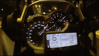 8. BMW R 1200 GS 0-200 acceleration & top speed