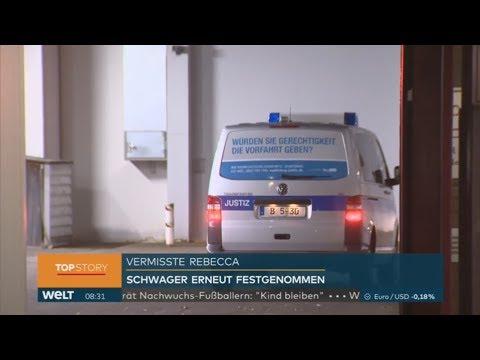 Fall Rebecca: Festgenommener Schwager kommt vor Haftric ...