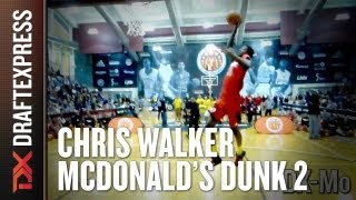 Chris Walker - 2013 McDonalds All American Dunk Contest - Dunk 2