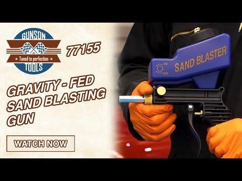 77155 Gunson gravity-fed sand blaster gun
