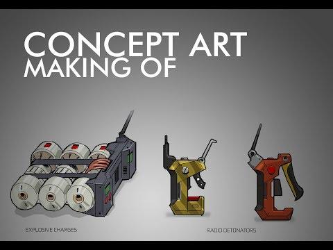 Devblog 5 – Pantropy Concept Art | Remote Charge