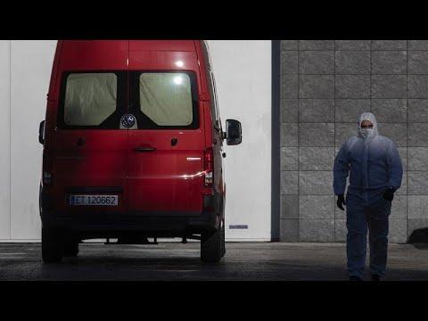 Η Ευρώπη αντιμέτωπη με την πανδημία