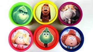 Video Dr. Seuss THE GRINCH Play-doh Lids Surprises with Max the Dog & Cindy Lou Toys MP3, 3GP, MP4, WEBM, AVI, FLV Januari 2019