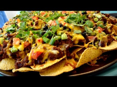 Nacho - Try this great Nachos Supreme Recipe --it's a super grande-sized platter of nacho heaven. We use ground beef for this recipe, but if you skip the meat and ju...