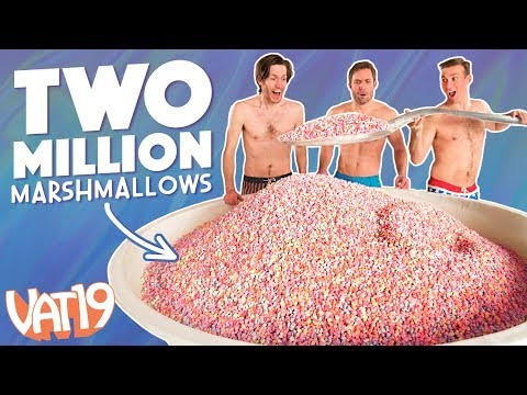 Gigantic Bowl of Just Cereal Marshmallows (видео)