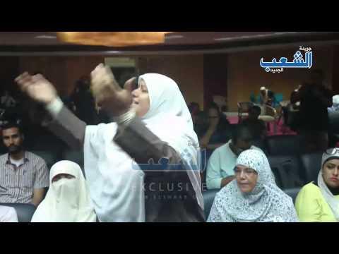 """أصوات أمهات المعتقلات تزلزل نقابة الصحفيين """"طلعولنا بناتنا"""""""