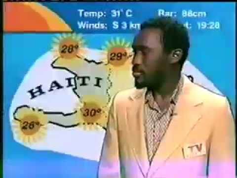 That CRAZY Black Weatherman!