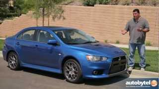 2012 Mitsubishi Lancer Evolution X Test Drive&Sports Sedan Car Video Review