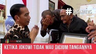 Video Ketika Jokowi Tidak Mau Dicium Tangannya Oleh Nyak Sandang MP3, 3GP, MP4, WEBM, AVI, FLV April 2019
